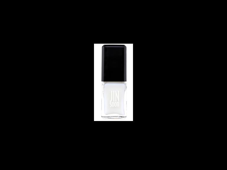 wedding nail colors sheer white
