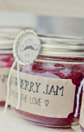 Strawberry Jam Favors