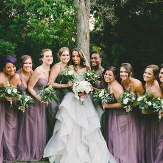 Tips on getting the perfect mismatched bridesmaid dress look