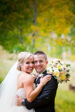 An Elegant Bridal Updo