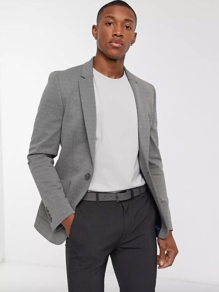 casual wedding attire for men kint blazer