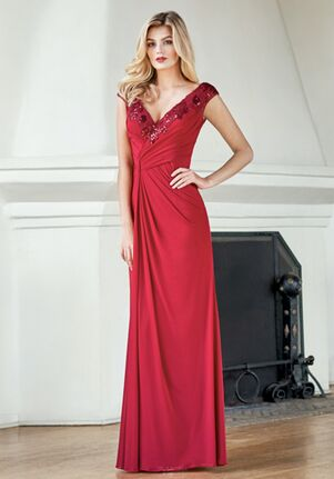 Jade Mother of the Bride by Jasmine J215061 Red Mother Of The Bride Dress