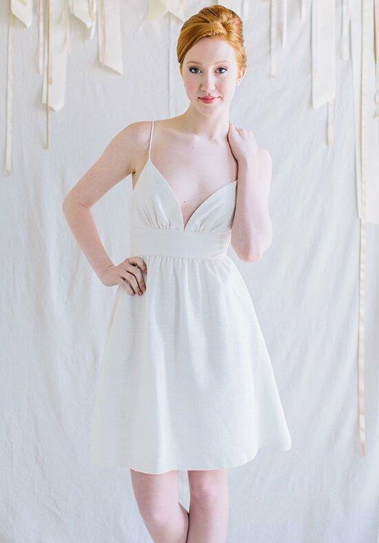 Kate McDonald Little White Dress Farrow Wedding Dress photo