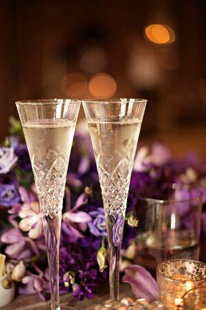 Elegant Champagne Flutes