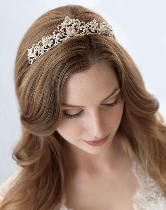 USABride Elizabeth Rhinestone Crown TI-3157-SV Wedding Tiaras photo