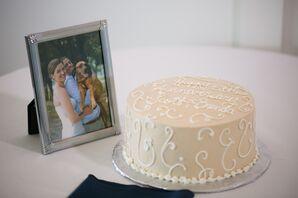 Single-Tier Wedding Anniversary Cake