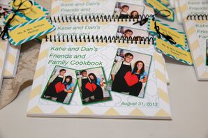 Personalized Cookbook Wedding Favors