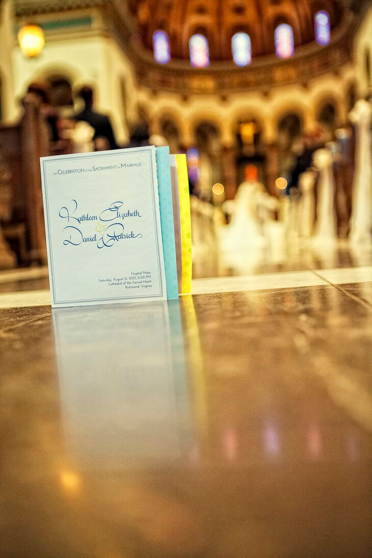 Colorful Ceremony Program Book