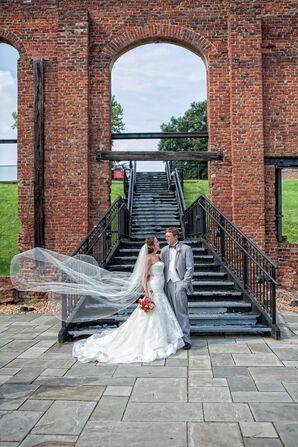 Bride and Groom at John Marshall Hotel Wedding