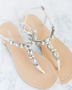 Bella Belle HERA Silver Shoe