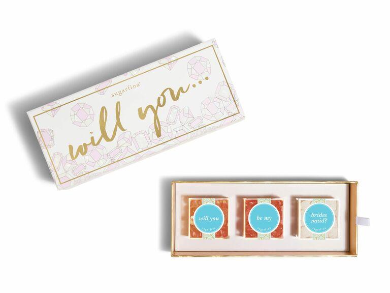 be my bridesmaid candy box
