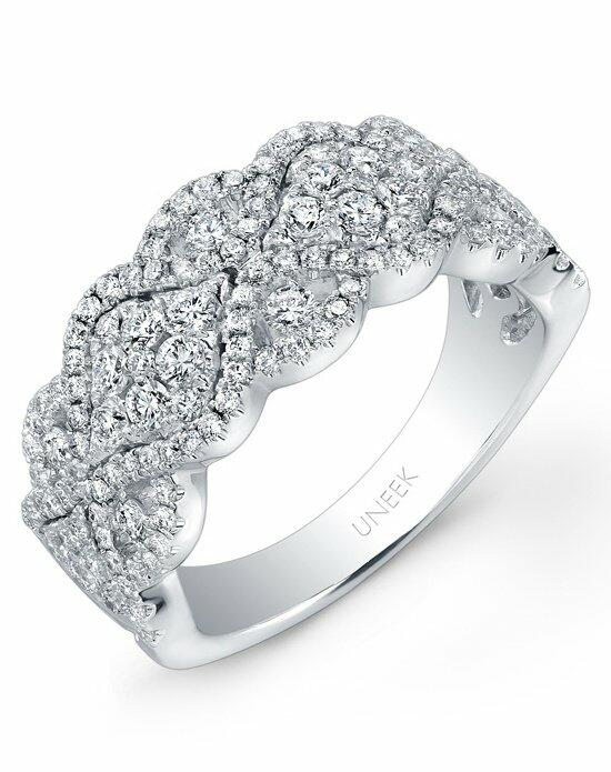 Uneek Fine Jewelry The Reticella Diamond Band/LVR104 Wedding Ring photo