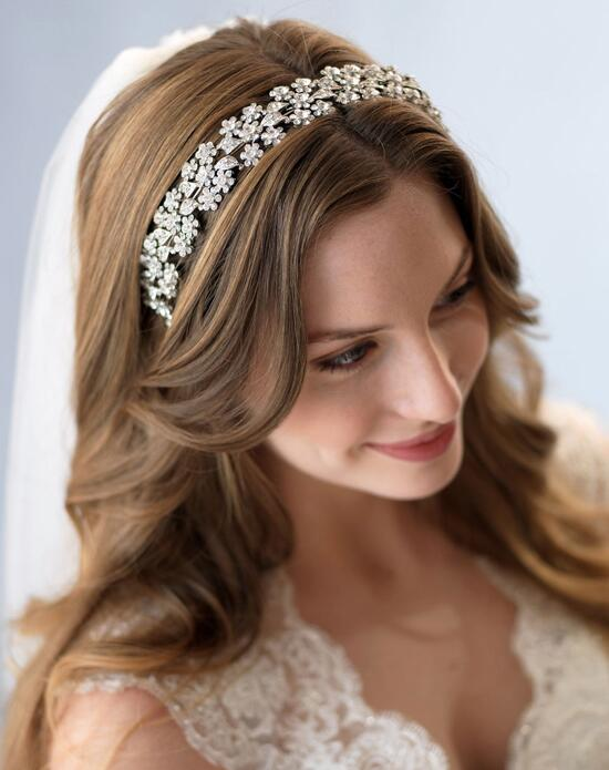 USABride Simone Antique Silver Headband TI-3171 Wedding Headbands photo