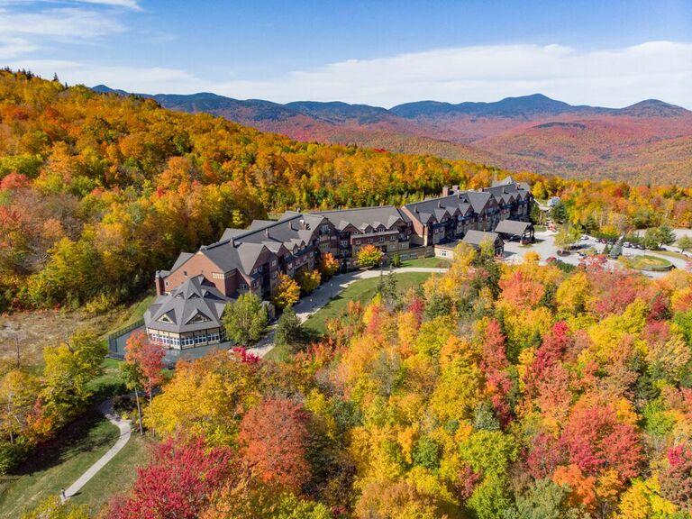 Mountain wedding venue in Newry, Maine.