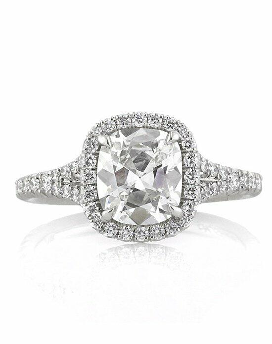 Mark Broumand 2.20ct Antique Cushion Cut Diamond Engagement Ring Engagement Ring photo