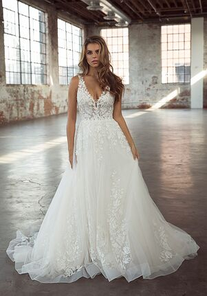 Louvienne Elena Ball Gown Wedding Dress