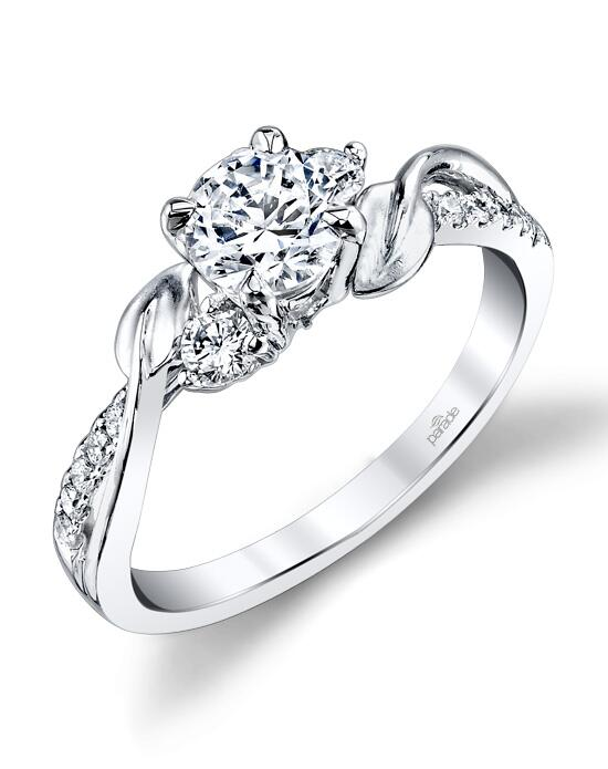 Parade Design Style R3121 from the LYRIA Collection w Engagement Ring photo