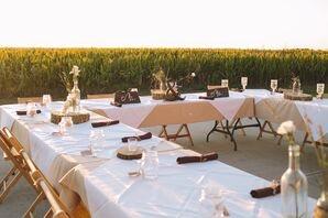 Light-Colored Table Linens