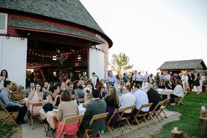 Indoor/Outdoor Barn Reception