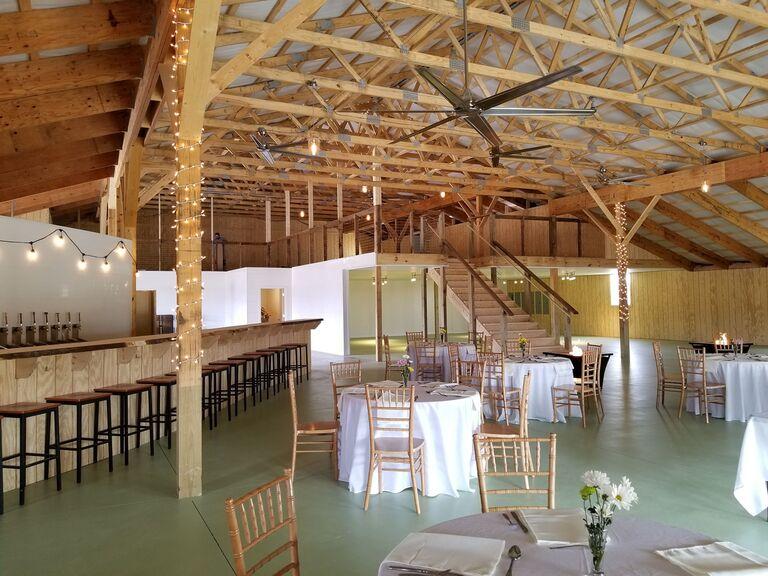 Brewery wedding venue in Middletown, Virginia.