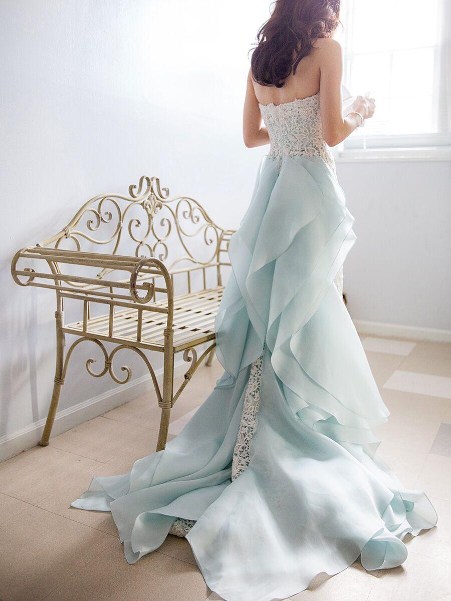 10 Dreamy Blue Wedding Gowns