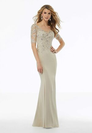 MGNY 72108 Blue,Champagne Mother Of The Bride Dress