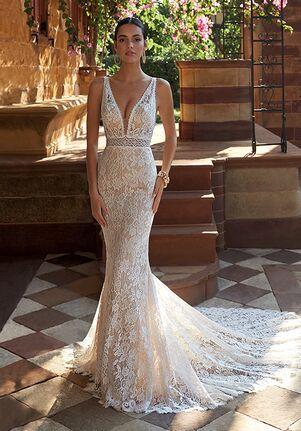 Demetrios 8042 Mermaid Wedding Dress