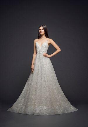 Lazaro 3814 A-Line Wedding Dress