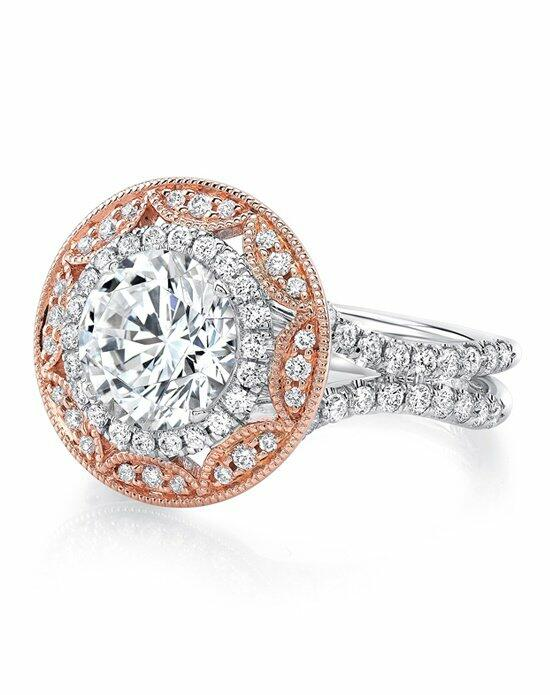 Uneek Fine Jewelry LVS987RDWR-8.0RD Engagement Ring photo