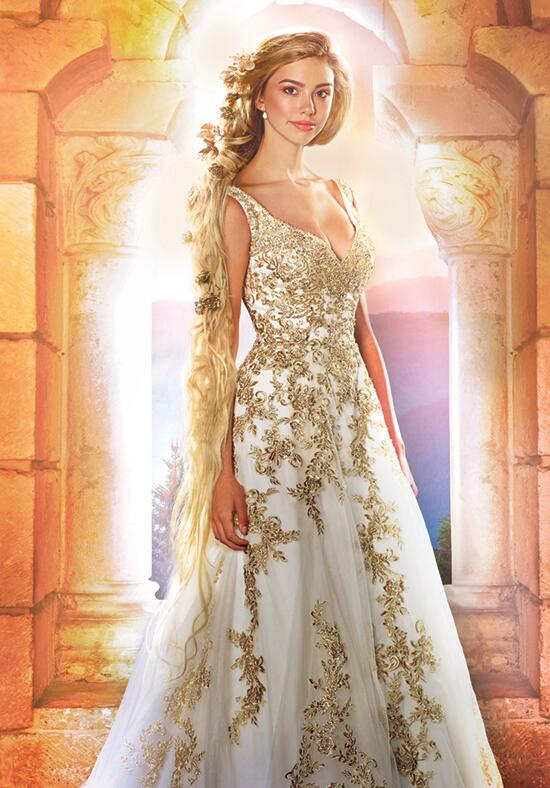 Alfred angelo disney fairy tale weddings bridal collection for Wedding dress disney collection