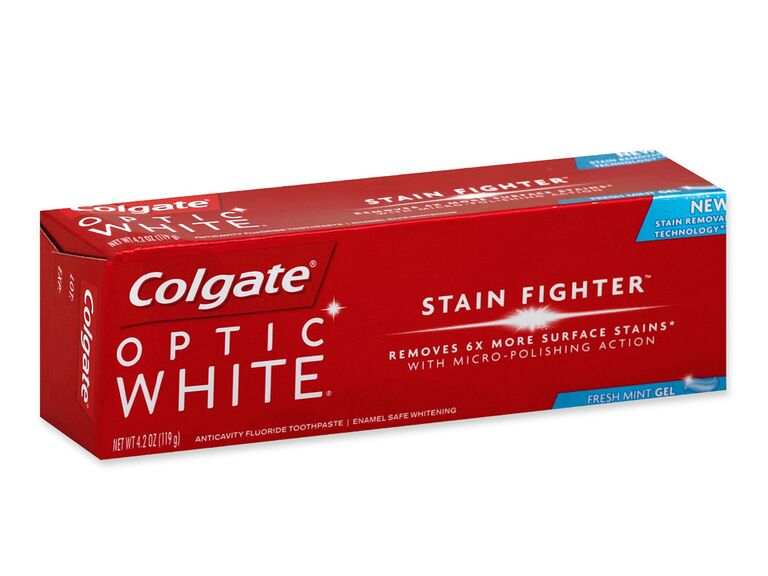 colgate wedding day teeth whitener stain fighter toothpaste in fresh mint
