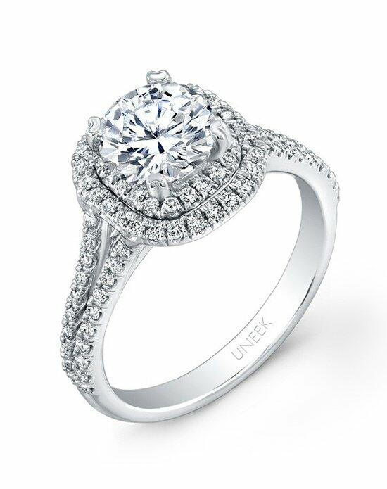 Uneek Fine Jewelry USM022DCU-6.0RD Engagement Ring photo