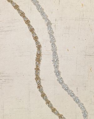 To Have & To Borrow Lumina Gold, Silver Sashes + Belt