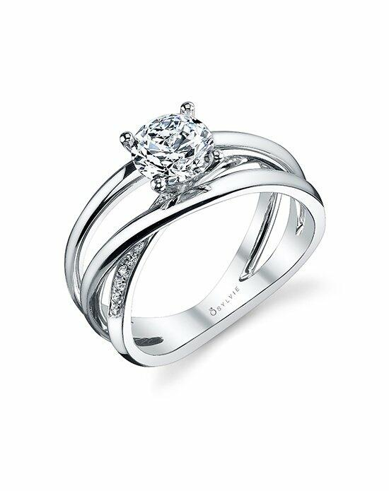 Sylvie Collection S1116 Engagement Ring photo