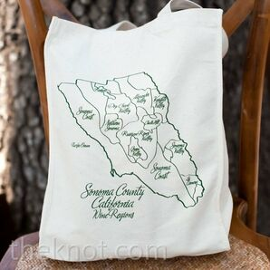Tote Wedding Favors