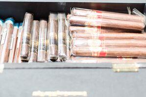 Cigars for Reception's Cigar Bar