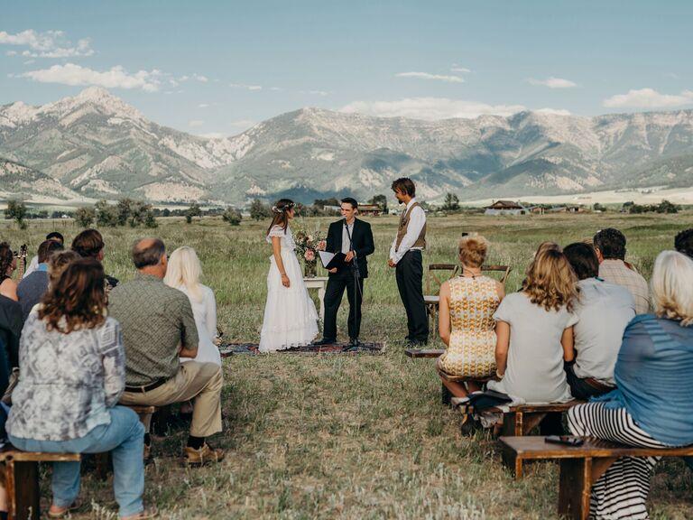 Outdoor Wedding Venues Rathvinden Farm