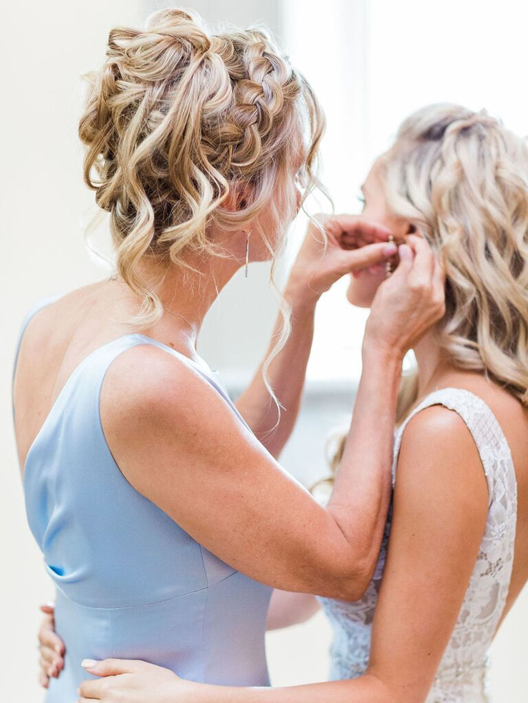 mother of the bride braided hairstyle