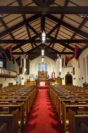 Fort Snelling Chapel Wedding Ceremony