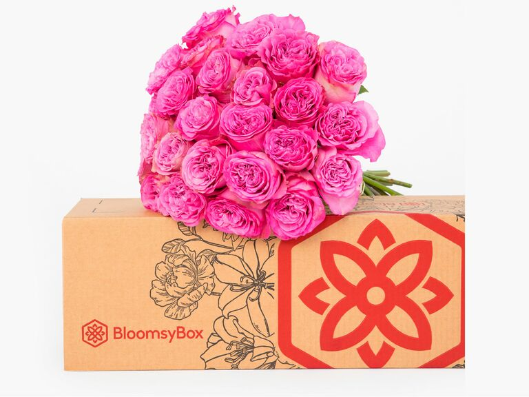 BloomsyBox flower delivery wedding gift for mother in law