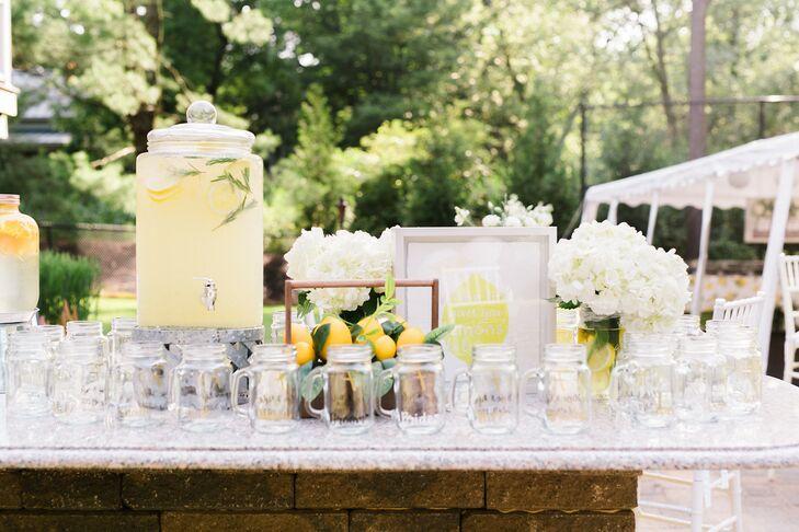 Lemonade at Backyard Minimony in New York