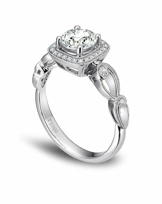 Platinum Must Haves Simon G. Platinum and Diamond Engagement Ring Engagement Ring photo