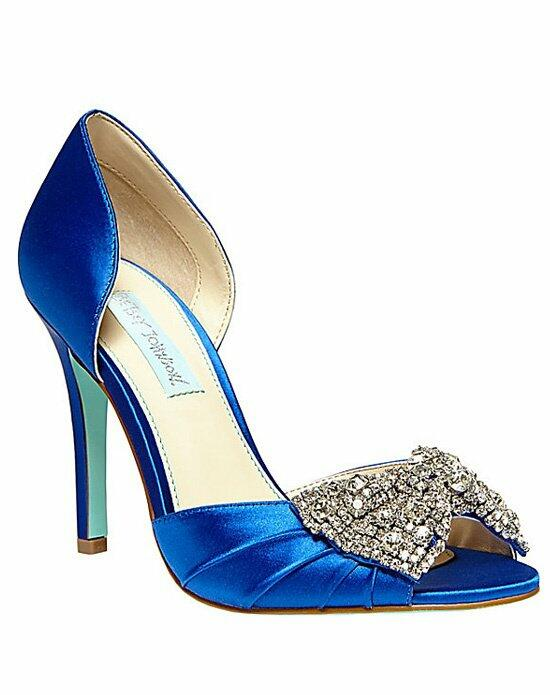 Blue by Betsey Johnson SB-Gown-Blue Wedding Shoes photo