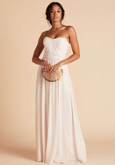 Birdy Grey Grace Convertible Dress in Champagne Sweetheart Bridesmaid Dress