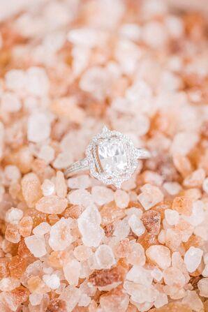 Ornate Engagement Ring for Leesburg, Virginia, Wedding