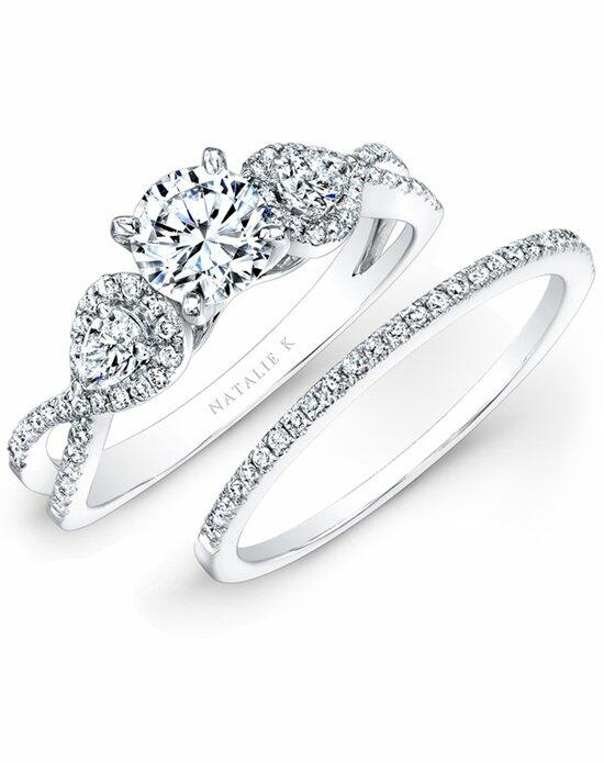 Natalie K L'Amour Collection - NK25434WE-W Engagement Ring photo