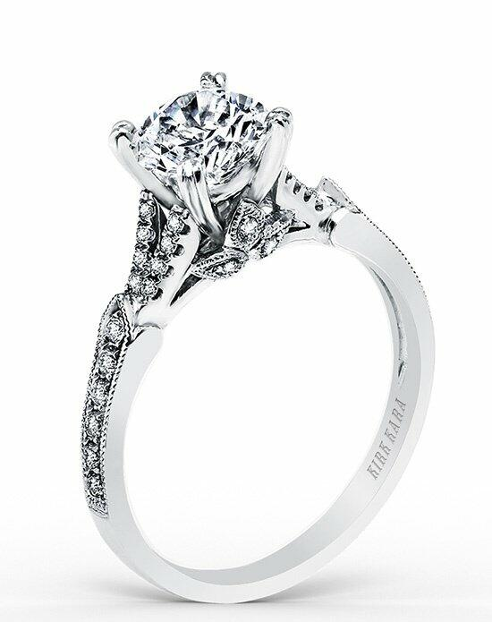 Kirk Kara Stella Collection K1290DC-R Engagement Ring photo