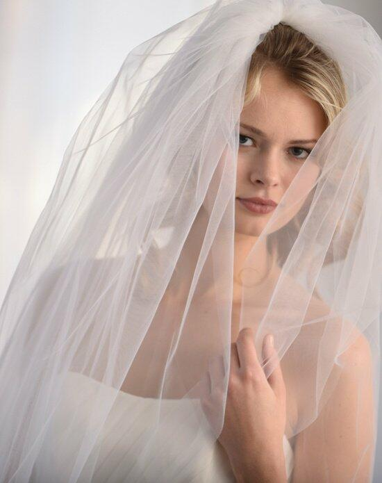 USABride 2 Layer, Cut Edge Cathedral Veil VB-5036 Wedding Veils photo