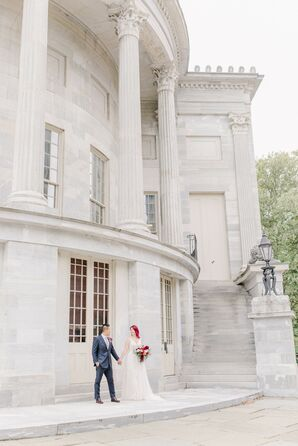 Wedding-Day Portraits at Kimpton Hotel Monaco in Philadelphia, Pennsylvania
