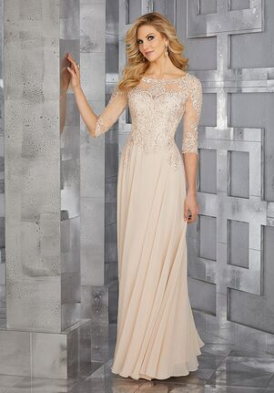 MGNY 71622 Black,Champagne Mother Of The Bride Dress